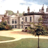 Front of Huntroyd House in 1905